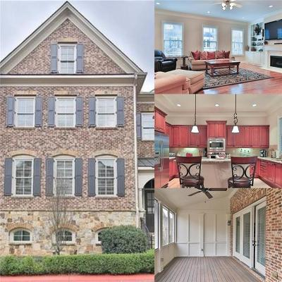 Kennesaw Condo/Townhouse For Sale: 2313 Saint Davids Square NW #2313