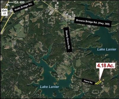 Cumming Residential Lots & Land For Sale: Shady Grove Road