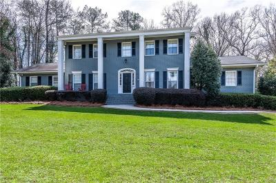Sandy Springs Single Family Home For Sale: 720 Old Post Road