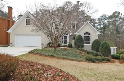 Acworth Single Family Home For Sale: 5634 Forkwood Drive NW