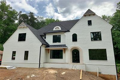 Atlanta Single Family Home For Sale: 4399 Tree Haven Drive NE
