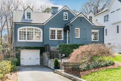 Peachtree Park Single Family Home For Sale: 709 E Paces Ferry Road NE