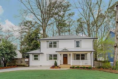 Decatur Single Family Home For Sale: 416 Medlock Road