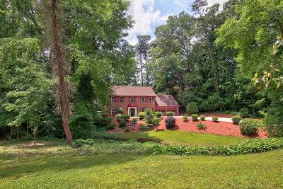 Marietta Single Family Home For Sale: 1555 Princeton West Trail