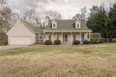 White Single Family Home For Sale: 8180 Post Road