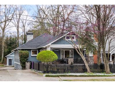 Inman Park Single Family Home For Sale: 536 Moreland Avenue NE