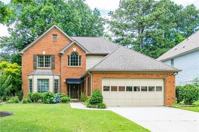 Alpharetta Single Family Home For Sale: 12060 Leeward Walk Circle