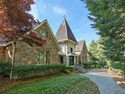 Atlanta GA Single Family Home For Sale: $3,950,000