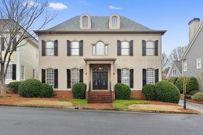 Smyrna Single Family Home For Sale: 3424 Paces Ferry Circle SE