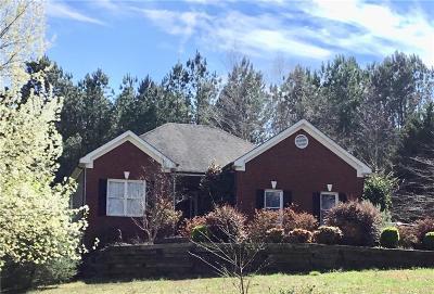 Monroe Single Family Home For Sale: 3790 Lovers Lane