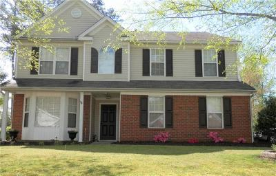 Grayson Single Family Home For Sale: 1328 Cascade View Drive