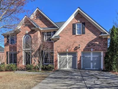 Roswell Single Family Home For Sale: 3642 Summit Oaks Drive NE