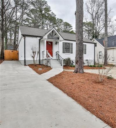 Decatur Single Family Home For Sale: 564 Daniel Avenue