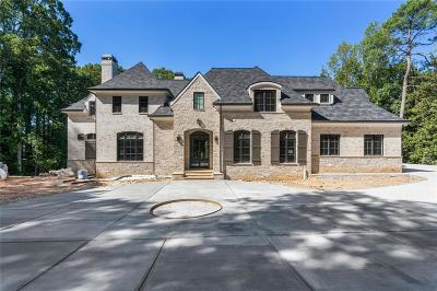 Buckhead Single Family Home For Sale: 3995 Randall Mill Road NW