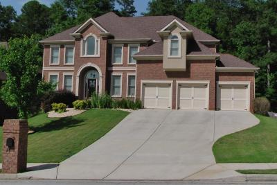 Buford Single Family Home For Sale: 2855 Ivy Hill Drive