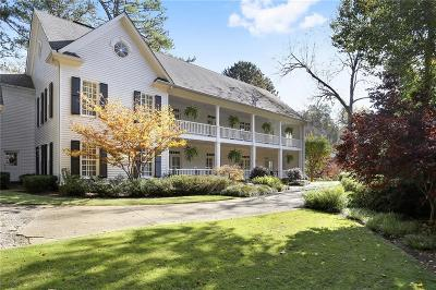 Sandy Springs Single Family Home For Sale: 6055 Heards Drive
