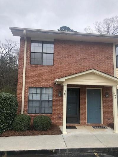 Calhoun Condo/Townhouse For Sale: 361 Mount Vernon Drive