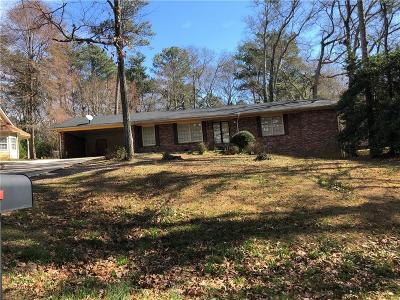 Single Family Home For Sale: 2915 Union Grove Road