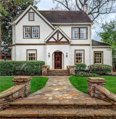 Morningside Single Family Home For Sale: 1572 N Morningside Drive NE