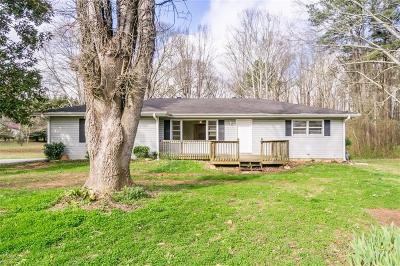 Acworth Single Family Home For Sale: 3210 Baker Road NW