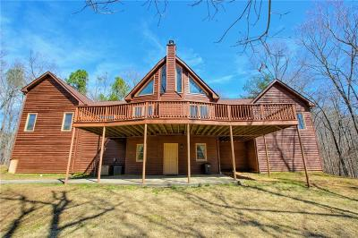 Rockmart Single Family Home For Sale: 1619 Brushy Mountain Road