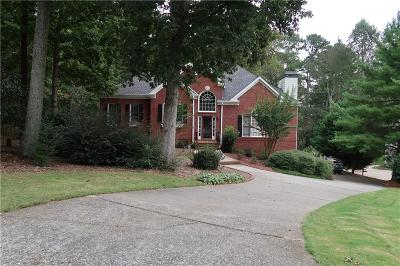 Suwanee Single Family Home For Sale: 3885 Waterford Drive
