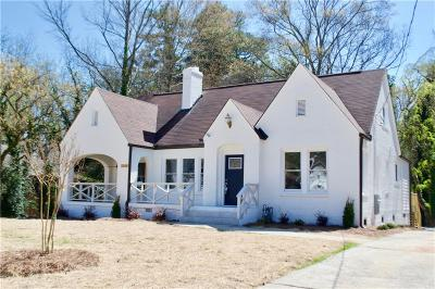Atlanta Single Family Home For Sale: 2140 Cascade Road SW