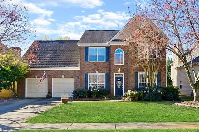 Roswell Single Family Home For Sale: 7095 Baywood Drive