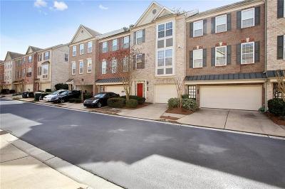 Norcross Condo/Townhouse For Sale: 5742 Pine Oak Drive
