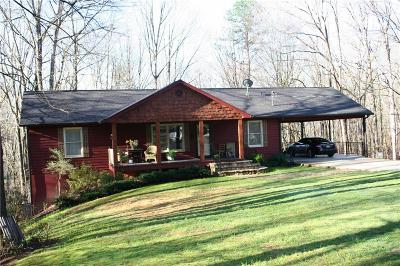 Lumpkin County Single Family Home For Sale: 971 Porter Springs Rd