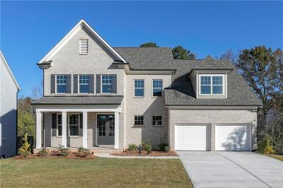 Holly Springs Single Family Home For Sale: 518 Edgewater Drive