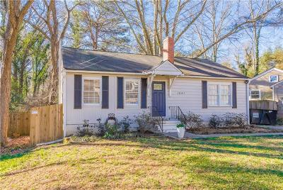 East Atlanta Single Family Home For Sale: 1641 Cecile Avenue