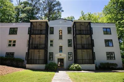 Condo/Townhouse For Sale: 68 Peachtree Memorial Drive NW #68-2