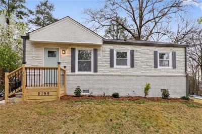 Smyrna Single Family Home For Sale: 2199 Misty Lane SE