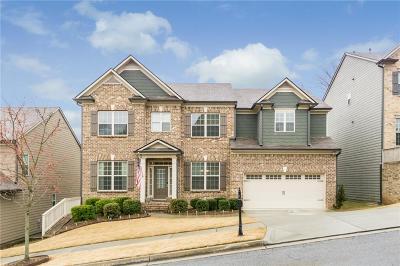Buford Single Family Home For Sale: 1158 Parkmist Drive