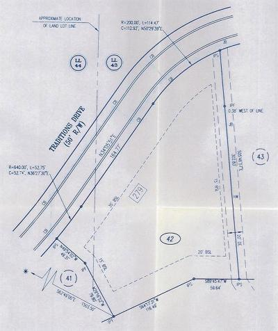 Alpharetta Residential Lots & Land For Sale: 279 Traditions Drive