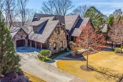 Walton County, Gwinnett County, Barrow County, Hall County, Forsyth County Single Family Home For Sale: 4824 Elkhorn Hill Drive
