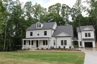 Milton  Single Family Home For Sale: 4960 Forest Circle