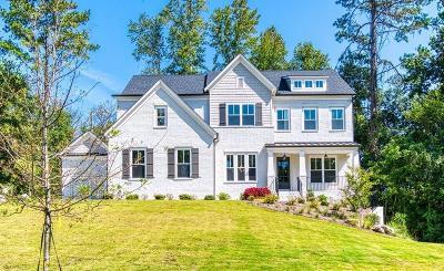 Milton Single Family Home For Sale: 130 Milestone Trail