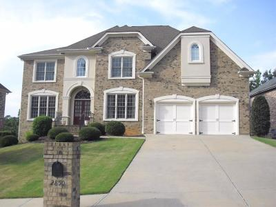 Buford Single Family Home For Sale: 2850 Ivy Brook Lane