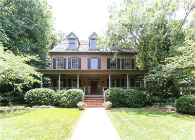 Sandy Springs Single Family Home For Sale: 40 Old Vermont Place