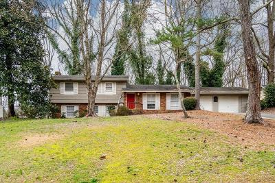 Sandy Springs Single Family Home For Sale: 6555 Williamson Drive