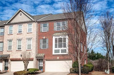 Norcross Condo/Townhouse For Sale: 3271 Greenwood Oak Drive