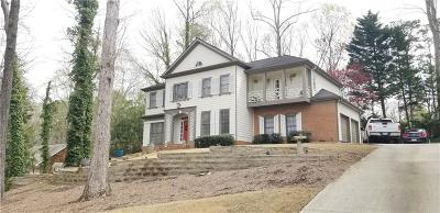 Alpharetta GA Single Family Home For Sale: $550,000