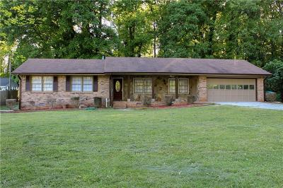 Lilburn Single Family Home For Sale: 457 Cole Drive SW