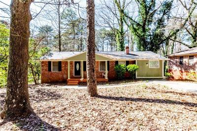 Atlanta Single Family Home For Sale: 2181 Maxwell Drive SW