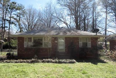 Marietta Single Family Home For Sale: 161 Herbert Drive SE