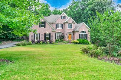 Kennesaw Single Family Home For Sale: 4009 Turnstone Drive NW