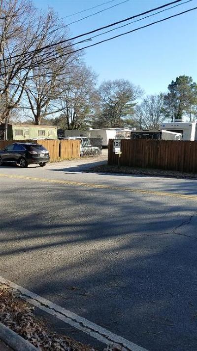 Roswell Residential Lots & Land For Sale: 121 Hill Street