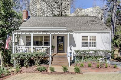 Peachtree Hills Single Family Home For Sale: 108 Terrace Drive NE